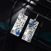 Dangle Drop Earrings Vintage Geometric Rectangular Earrings Lady Trendy Jewelry