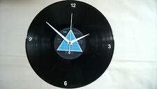 "PINK FLOYD Dark Side Of The Moon 12"" VINYL LP  Wall Clock (Ver2)"