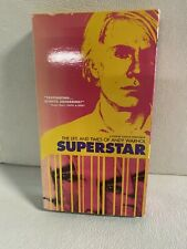 Superstar: The Life and Times of Andy Warhol (VHS, 2001) Documentary