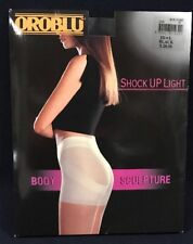 Oroblu Women Shock Up Light Body Sculpture Black Tight Large Pantyhose 20 Denier