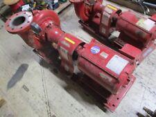 Bell & Gossett 1510 Pump 5BC 9.375 BFW 600GPM 80ft Head 20HP 1800RPM 175PSI Used