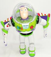 "Buzz Lightyear - Toy Story - Posable Action Talking Figure - 12"" Disney Pixar"