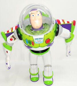 "Buzz Lightyear - Toy Story - Posable Action Talking Figure - 12"" Disney Pixar"