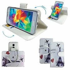 Mobile Phone Book Cover Case For TP-LINK Neffo X1 Lite - Paris M