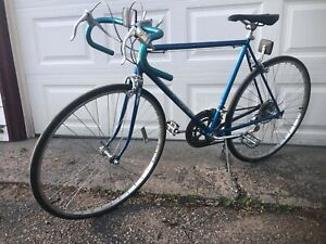Vintage 1980 Schwinn Varsity Bicycle - Blue - Complete