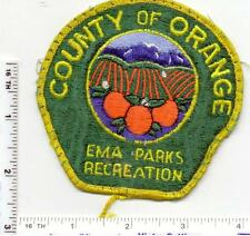 County of Orange (California) EMA Parks Recreation Shoulder Patch (used 1980's)