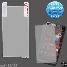 Motorola Droid Razr M XT907 Ultra Clear Screen Protector Twin Pack