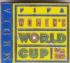 WOMEN'S WORLD CUP 1999 MEDIA Lapel Pin