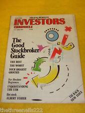 INVESTORS CHRONICLE - THE GUNG-HO BOFFINS - JUNE 5 1987