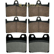 FRONT REAR BRAKE PADS YAMAHA FZ1 FZ1000 FZS1 FZS1000 2001-2005 FRONT REAR PADS
