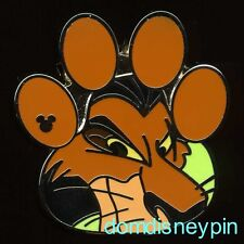 Disney Pin WDW 2017 Hidden Mickey Series *Lion King Paw Prints* Scar!
