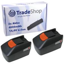 2x AKKU 14,4V 4000mAh Li-Ion für Fein MultiMaster QuickStart ABLK 1.6 E ASB 14