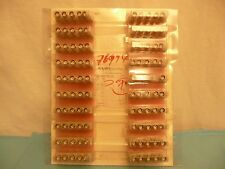 Lot of 100 AMP Incorporated PN:415715-1 00 50 Ohm BNC Chasis/PCB Mount NIB NOS
