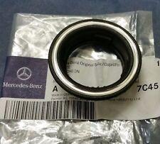 Mercedes NEW GENUINE Ignition Key Lock Black Chrome Ring Trim Bezel ESCUTCHEON