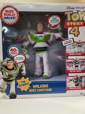Mattel Disney Pixar Toy Story 4 The Ultimate Walking Buzz Lightyear. NEW