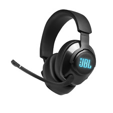 JBL Quantum 400 USB Over-ear Gaming Headset with Game-chat Dial, Black