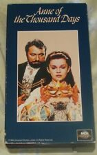 ANNE OF THE THOUSAND DAYS (vhs,1995,english,hi-fi) working cond.