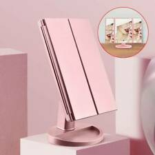 LED make up mirror Illuminated Make Up Mirror Cosmetic Vanity with Light Stand