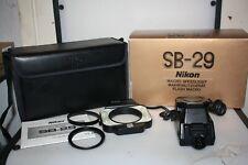 nikon sb-29 macro speedlight