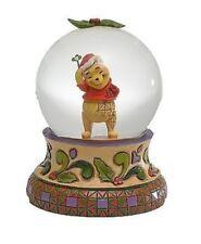 Disney*WINNIE THE POOH WATERBALL*Jim Shore*NEW*Snow Globe*CHRISTMAS*4023560