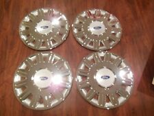 "SET OF 4 New 2003 2005 03 04 05 Fits Crown Victoria 16"" Hubcaps Wheel Covers"