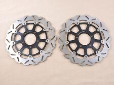 AM 2pcs Front Brake Disc Rotor For GSXR 600 750 K4/K5 04-05 GSXR1000 K3/K4 03-04