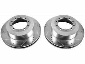 For 2011-2012 Ram 5500 Brake Rotor Set Rear Power Stop 79797YM Brake Rotor