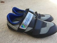 Shimano SH-T120 Cycling Shoes SPD Mountain Black Size 8 US 41.5 EUR SL Phyre