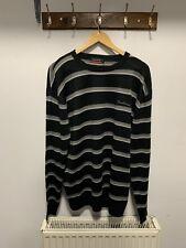 Pierre Cardin Mens Striped Sweatshirt Size XXL