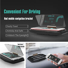Car Safety Driving Navigation HUD Head Up Display Phone Bracket Support Holder