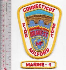 Fire Boat Milford Fire Department Fireboat Marine 1 Marine Unit Connecticut FD