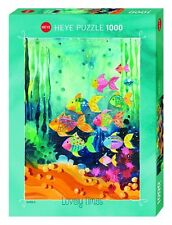 Heye Puzzles - 1000 Piece Jigsaw Puzzle  - Shoal of Fish HY29779