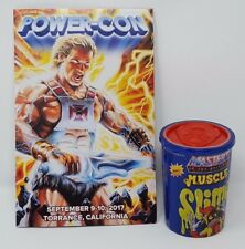 MOTUSCLE POWER-CON 2017 EXCLUSIVE SUPER7 WAVE 2 ORKO LABEL SLIME GREEN TRASH CAN