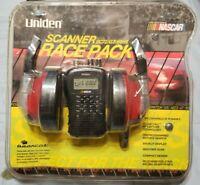 Uniden BC72XLT 100 Channel Handheld Scanner (Black) Nascar Edition W/ Headphones