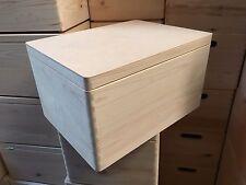 Large pine wood memory box DD170NH 40x30x23CM wooden