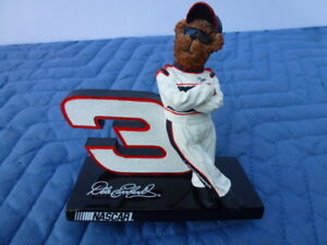 Dale Earnhardt Sr. Boyds Bears Collection Nascar #3 Goodwrench Figurine
