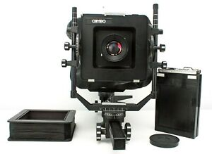 """Cambo - Large format 5x4"""" Monorail Camera w/ Rodenstock Sironar 150mm f/5.6 Lens"""