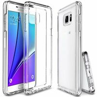 For Samsung Galaxy Note 9 8 4 5 S6 S7 S8 S9 Plus Edge Case Clear Tpu Soft Cover