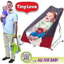 Tiny Love Take Along Bouncer Portable Folding Baby Chair Sleeping + CarryBag NEW