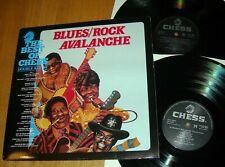 BLUES/ROCK AVALANCHE - Double LP - Muddy Waters / T-Bone Walker / Bo Diddley