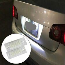 2X Canbus LED luz de la matrícula VW T5 Passat 3C B6 Caddy Touran Golf Plus
