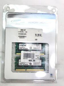 8GB 2x4GB CRUCIAL CT4G3S1067M.Y16F DDR3-1066 Laptop RAM Memory (NJL021138)