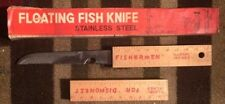 Vintage Floating Fish Knife Stainless Steel With Original Box