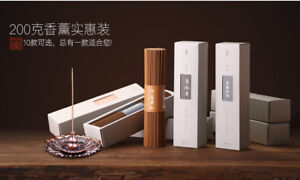 Incense Sticks 10 Flavor Sandalwood Tanxiang 家用室内香薰熏香卧室办公品茶檀香 墨凡天然印度老山檀香线香