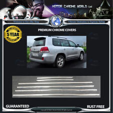 FITS TO LANDCRUISER LC200 J200 CHROME WINDOW TRIM COVERS 5y GUARANTEE 07-15 NEW