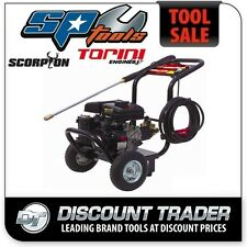 Scorpion by SP 2.6Hp Petrol Higher Pressure Washer Torini Motor - SPW1600PNPB