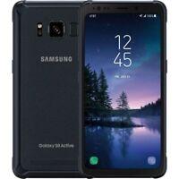 Samsung Galaxy S8 Active SM-G892U- 64GB Gray AT&T Unlocked Grade C Burn Image