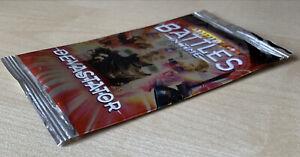 Dr Doctor Who Battles In Time Cards ULTRA RARE 2-Card Devastator Booster Pack