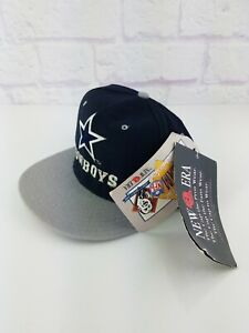 NWT Vintage 90s NFL Dallas Cowboys New Era 5950 Fitted Hat 7 1/2 Rare VTG 1990s
