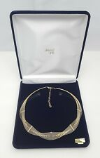 Beautiful 14K Karat Yellow Gold Designer Link Chain / Necklace Made in Israel